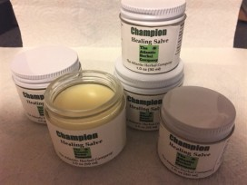 Champion Healing Salve